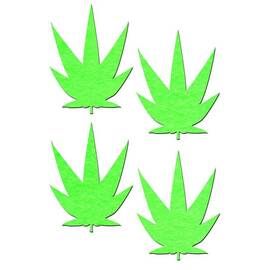 (wd) pastease petites small gl pot leaf 2 pairs