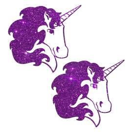 unicorn purple glitter
