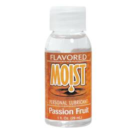 moist flavored lube passion fruit 1 oz