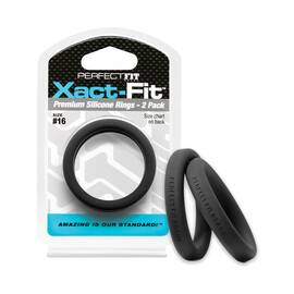 perfect fit xact-fit #16 2 pk black