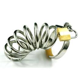 stainless steel six ring cock cage