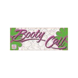 booty call round sign