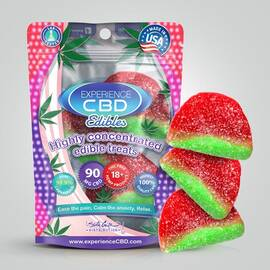 experience cbd 90mg watermelon gummies 3pc (net)