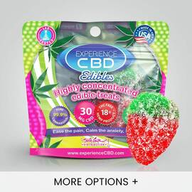experience cbd 30mg gummy strawberry 1pc (net)