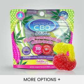 experience cbd 30mg gummy cherry 1pc (net)