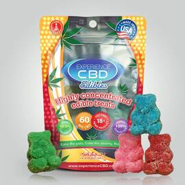 experience cbd 30mg sour gummy bears 2pc (net)
