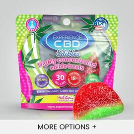 experience cbd 30mg watermelon gummy 1pc (net)