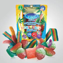 experience cbd 540mg assorted gummies 18pc (net)