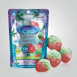 experience cbd 120mg strawberry gummies4pc (net)