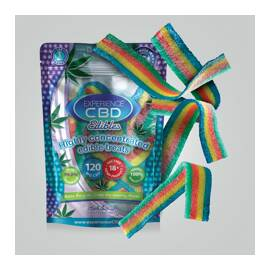 experience cbd 120mg rainbow belts 4pc(net)