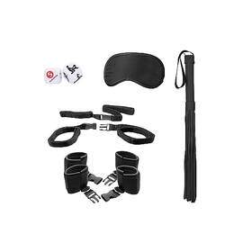 bed post bindings restraint kit black