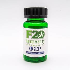 faux 20 sleep cbd 30mg per capsule 30ct bottle