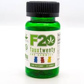 faux 20 cbd gummies 20mg per gummy 30 ct bottle