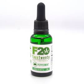 faux 20 peppermint cbd 1000mg tincture 30 ml bottle