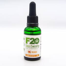 faux 20 mango cbd 1000mg tincture 30 ml bottle