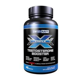 swiss navy triple x testosterone booster 45 ct