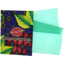 dental dam mint