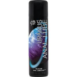wet uranus silicone based anal lube 3 oz