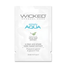 wicked aqua sample pack(5 per customer)