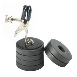 master series onus/nipple clamp w/weights